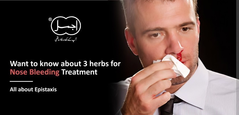 Want to know about 3 herbs for Nose Bleeding Treatment |  All about Epistaxis